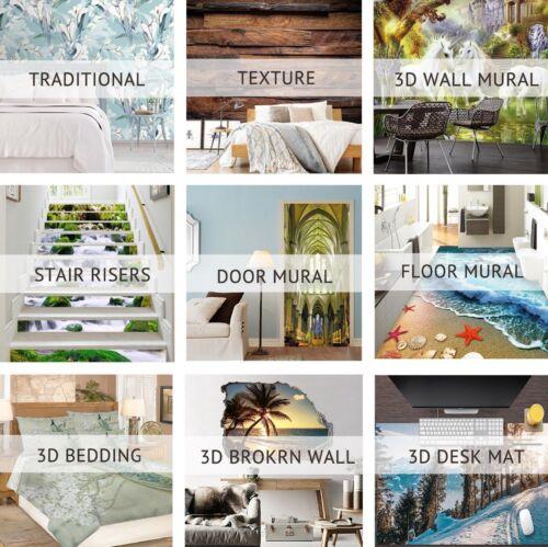 Details about  /3D Beautiful Garden 5 Wallpaper Mural Floor Wall Print Decal Wall Sticker UK