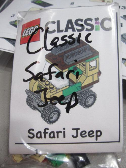 Lego Classic Safari Jeep 2018 49 pieces