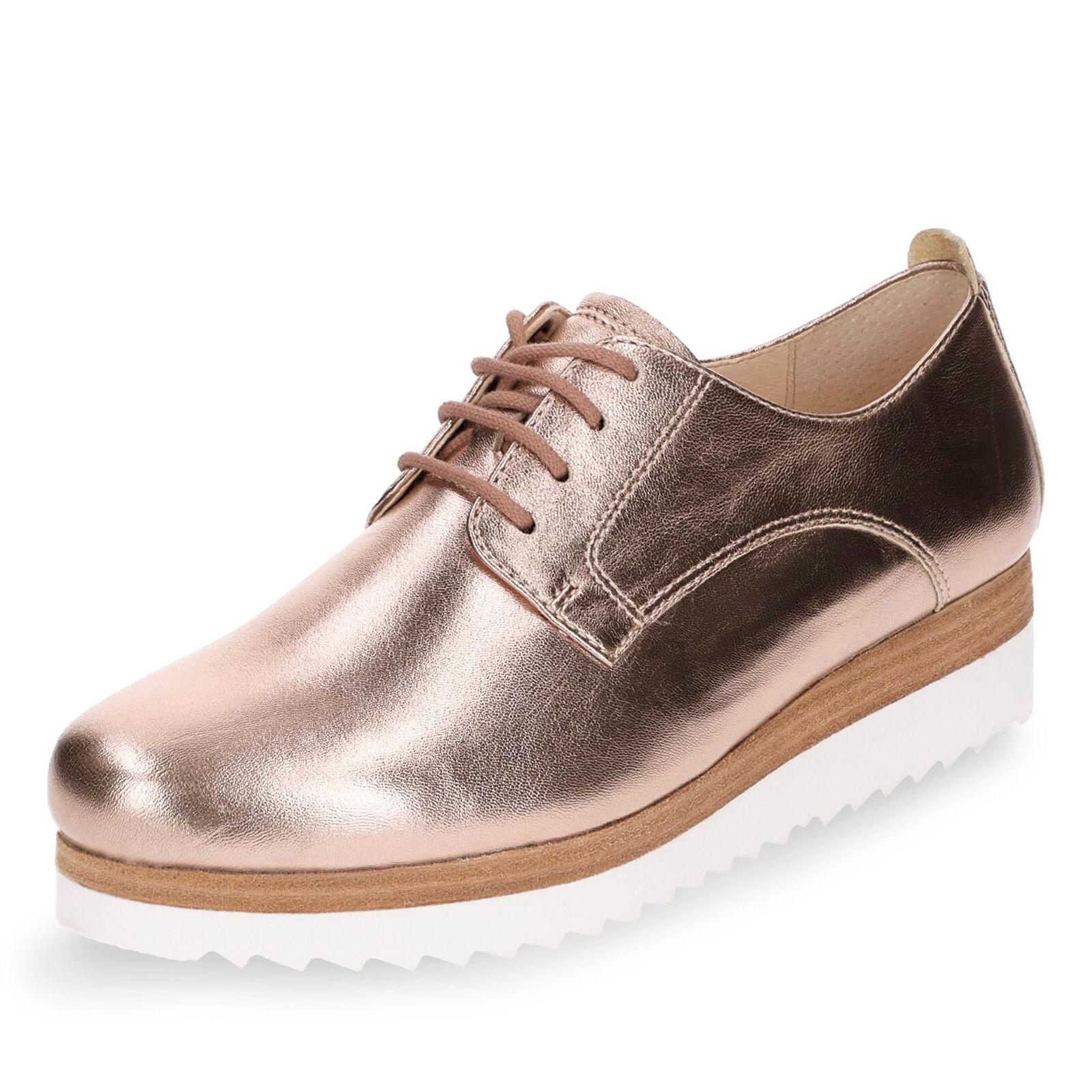 Schnürschuhe Comfort Gabor Halbschuhe Damänner rosé Schuhe