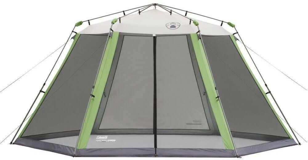 Coleuomo Pop Up Tent 15 ft x 13 ft Instant Screen Shelter Storage borsa verde