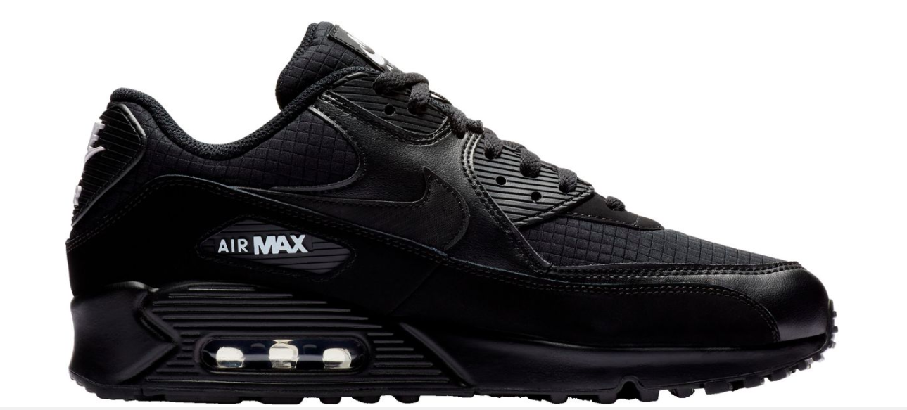 brand new 85790 863e4 Nike Air Max 90 Essential MENS Shoes Lifestyle Retro Sneakers Black size 8  - 15