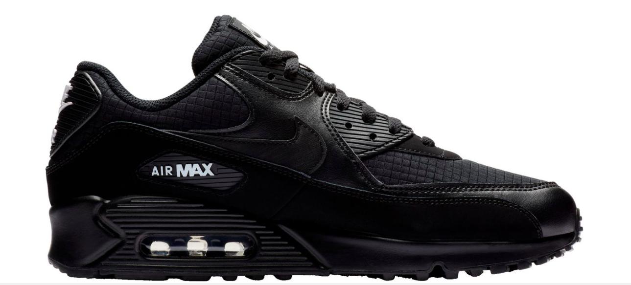 NIKE Mens Air Max 90 Essential Running Shoes Cargo Khaki