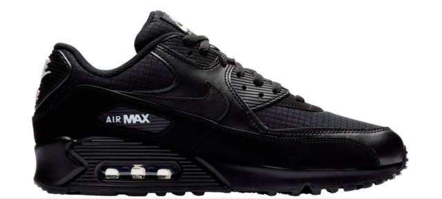 Nike Air Max 90 Essential MENS Shoes Lifestyle Retro Sneakers Black size 8 15