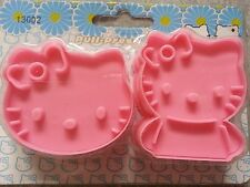 2pc Hello Kitty Fondant Cake decorating Cookie Biscuit Cutter Mold Tools