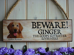 PERSONALISED-BEWARE-OF-THE-DOG-SIGN-CAUTION-WARNING-GOLDEN-RETRIEVER-GATE-SIGN