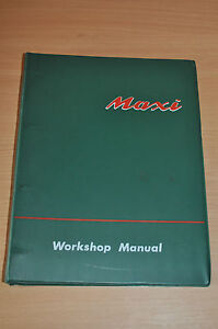 Werkstatthandbuch Workshop Manual Austin Morris Maxi 1969 Bücher Auto & Verkehr