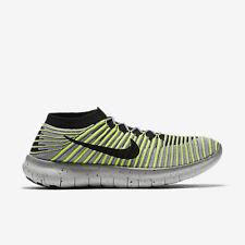 Nike Free RN Motion Flyknit Men's Running Shoes (SZ 10) Grey Volt 834584-007