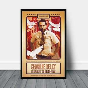 Charlie Kelly Attorney At Bird Law Its Always Sunny In Philadelphia Poster Ebay A leading international law firm experienced in ip, complex litigation, corporate and tax, focusing on healthcare, financial services and public policy. ebay
