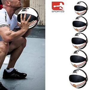Medicine-Ball-Rex-Cuir-Slam-Balle-Fitness-Gym-Poids-Gym-Exercice-3-kg-a-8-kg