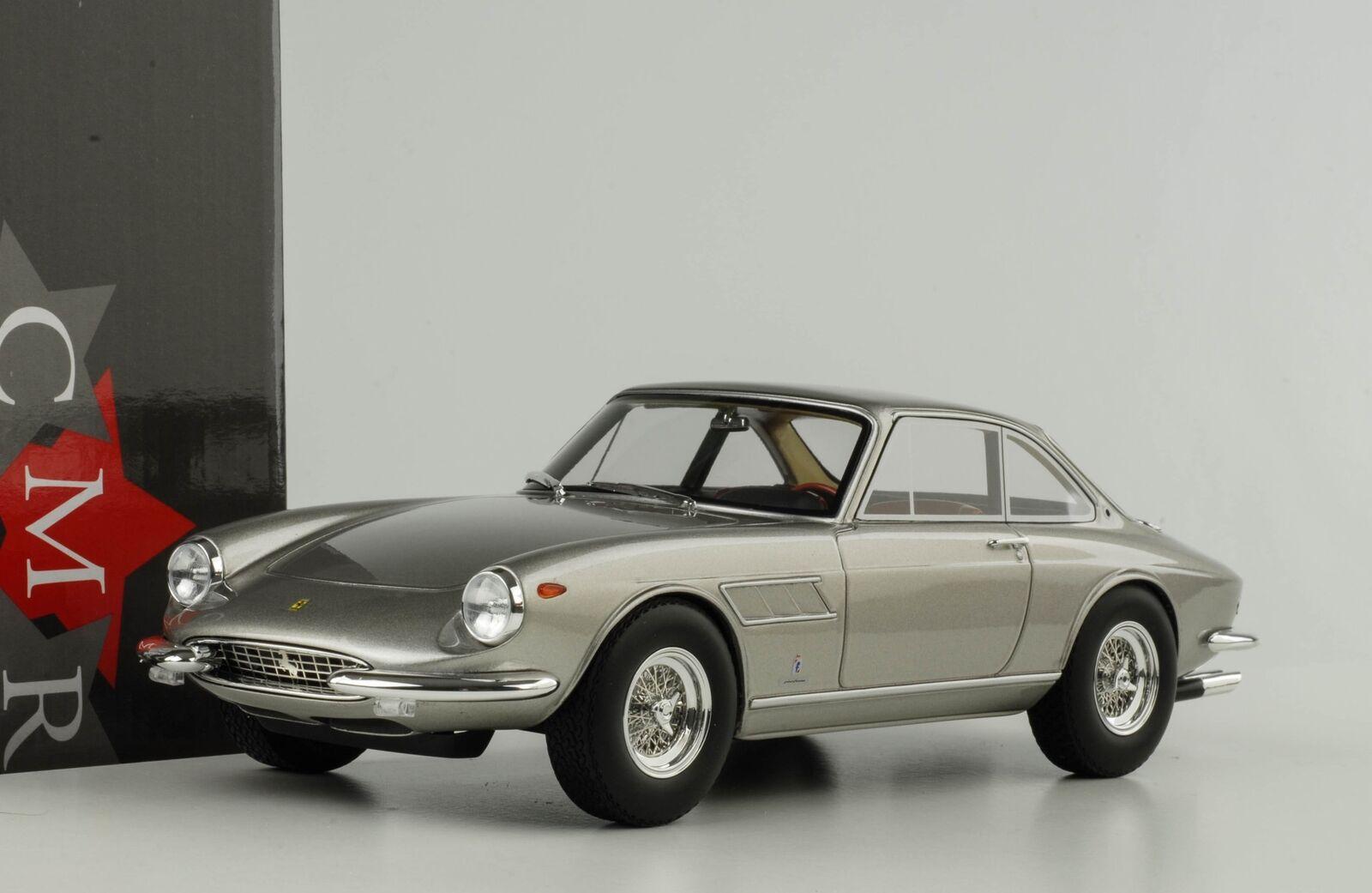 Ferrari 330 GTC 1966 1968 argent 1 18 CMR resin