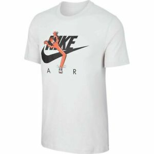 Nike-Tube-Man-Air-Men-039-s-T-Shirt-Tee-White-BQ0706-100