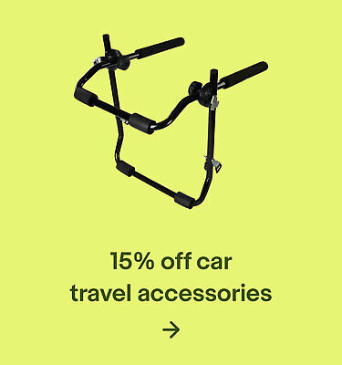 15% off car travel accessories