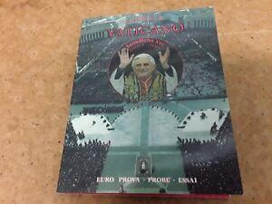 Frugal Vaticano 2005 Euro € Spécimen Pattern Coin Set-gratuit Uk P & P-afficher Le Titre D'origine