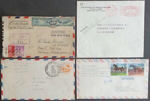 Estados unidos-etats-unis-EE. UU.: 4 documentos justificativos de 1937-1986