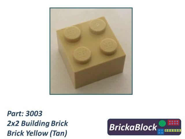 Packs of 8 Choose Colour NEW Design 3245 NEW LEGO 1x2x2 Bricks