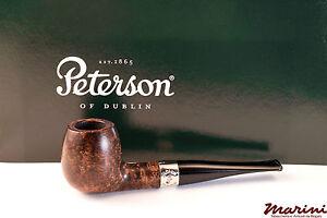 PFEIFE PIPES PIPE PETERSON OF DUBLIN ARAN 87 DRITTA RADICA LISCIA CON VERA