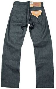 4f1d11131fb Details about Levi's 501-0987 Shrink-To-Fit Dark Grey Rigid Original Jeans  NWT All Sizes Avail