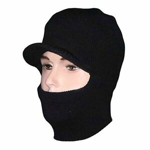 5e1b90419ea Details about One Hole Full Face Cover Thermal Ski Mask Winter Neck Warmer Beanie  Hat