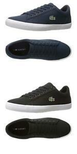NEW-Lacoste-Men-039-s-Fashion-Sneakers-Lerond-Canvas-Lace-Up-Casual-Shoes