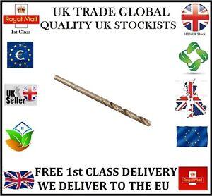 UK-STOCK-10-2-5mm-PROFESSIONAL-DRILL-BITS-HSS-G-GROUND-BRIGHT-METAL-PLASTIC-WOOD