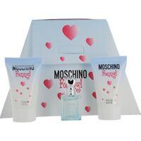 Moschino Funny Edt .13 Oz Mini & Body Gel .8 Oz & Shower Gel .8 Oz on Sale