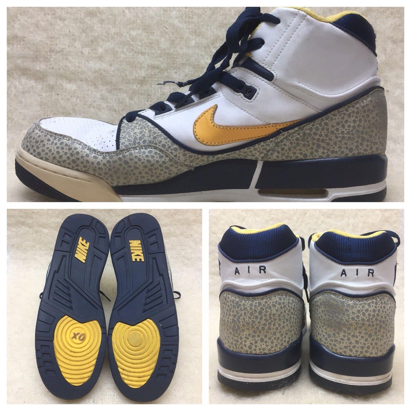 c7d513d0cb Nike Air Assault 315064-171 Safari Dunk Basketball HighTop Mens Size 13 US