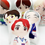 miniature 1 - Kpop BTS RM Jin Suga JHope Jimin V Jungkook Cartoon Soft Stuffed Doll Pillow