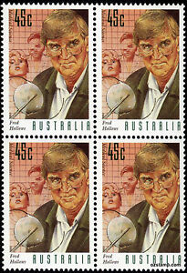 1995-Medical-Science-45c-Fred-Hollows-SG1554-Block-of-4-MUH-Mint-Stamps