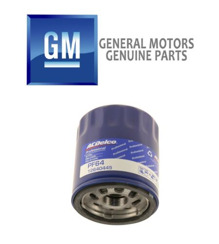 For Buick Regal Cadillac Chevy GMC Acadia Engine Oil Filter Genuine GM 19328339