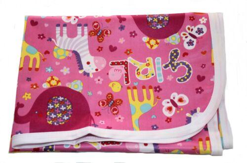 Baby change mat Portable Changing Mat Diaper Bag handbag 50x70cm pink zebra mat