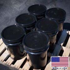 6 Buckets Asphalt Emulsion Sealer 5 Gallon Each 2400 To 3000 Sqft Bulk