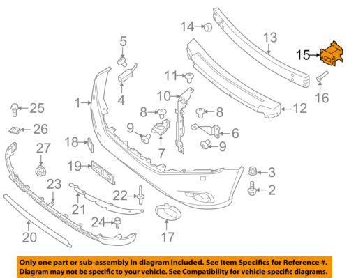 NISSAN OEM Front Bumper-Bumper Bracket Right 622103JA0A