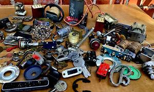 Metal Industrial-Steampunk- Art Sculpture Supplies-Misc Assemblage-Odd Parts-11