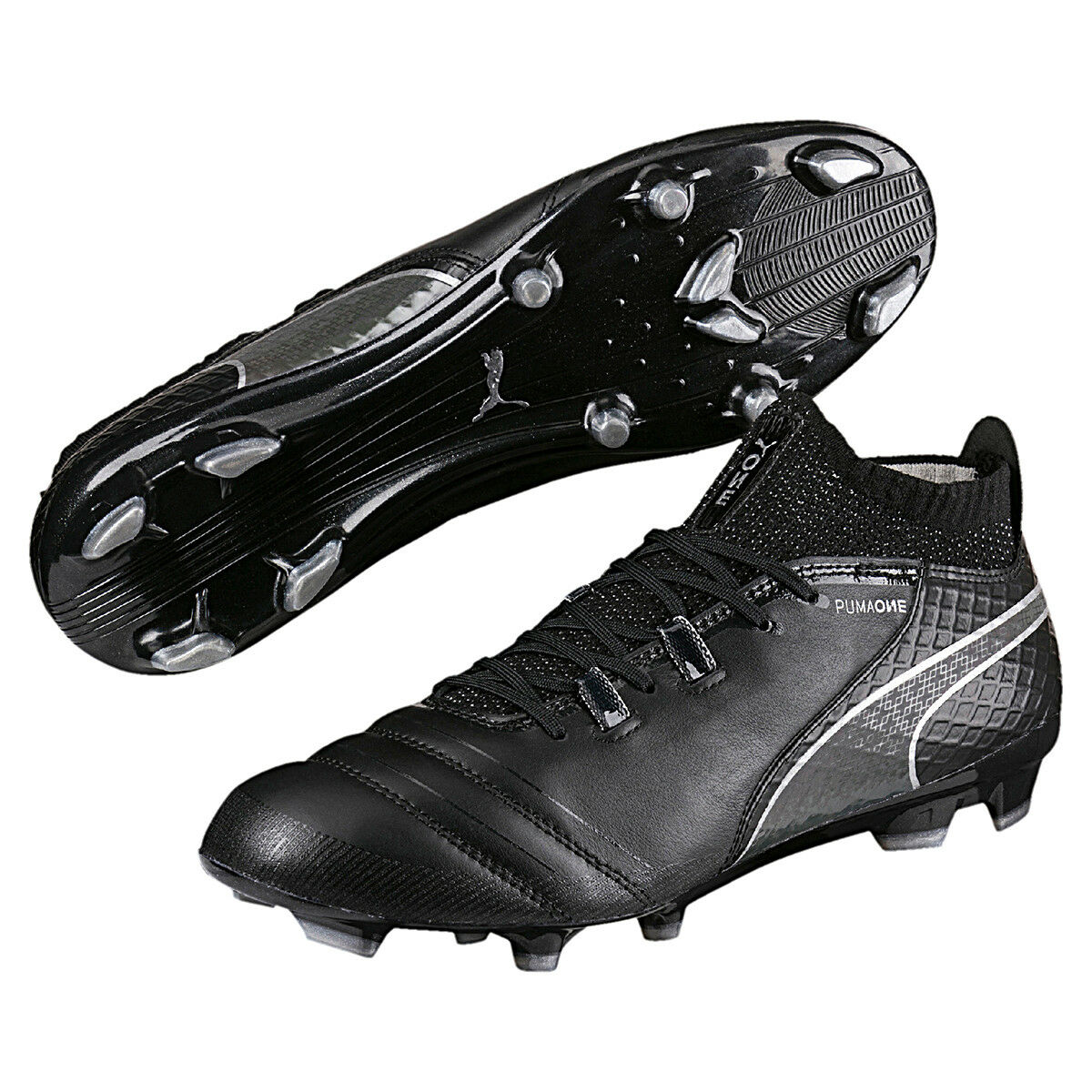 Puma ONE 17.1 FG Uomo Calcio avvio in pelle nera 104062 05