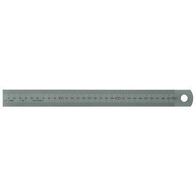 rechts selbstklebend 30 bis 1200cm starr Lineal Starrer Stahl Maßstab links