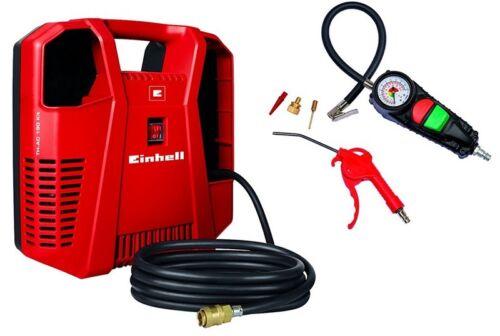Einhell compresor TH-ac 190 kit 1,1 kw ansaugleistung 190 L//min 8 bar 97db