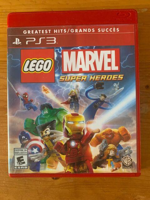 Lego Marvel Super Heroes (Playstation 3) *Free Ship Canada *Like New* PS3 Disney