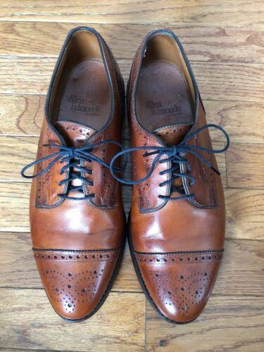 Allen Edmonds Sanford Chestnut Brown Mens Shoe 8 1