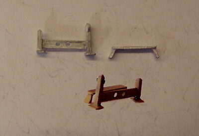 P/&D Marsh N Gauge N Scale C90 Stocks and whipping post castings require painting