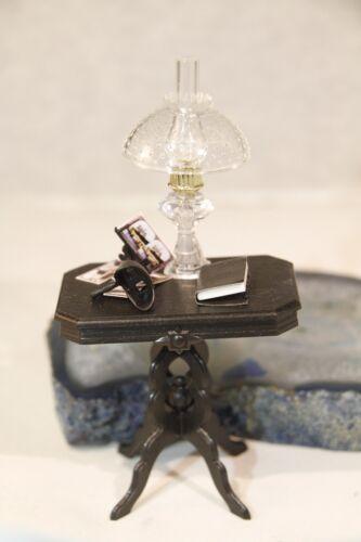 Chrysnbon Victorian Dollhouse Miniature Table Kit, Black #2425BK