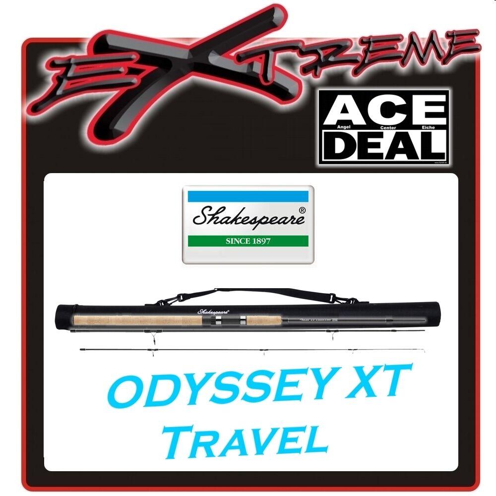 Shakespeare Odyssey SPIN XT 2,40 M spinngerte con Cordura tubo di trasporto