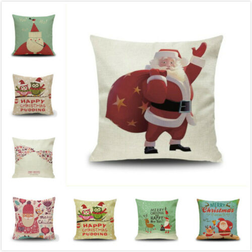 Merrry Christmas Weihnachten Decokissen Kissenbezug Kissenbezüge Kissenhülle LP