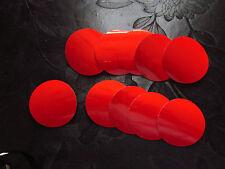 50mm Reflexfolie Reflektor Silber Reflektorband Aufkleber Rund 10 Kreis