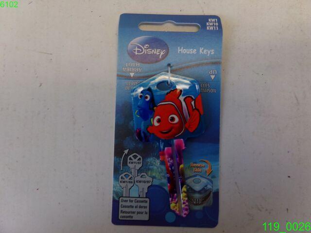 Disney Frozen Key Blank#66KW1//KW10//KW11