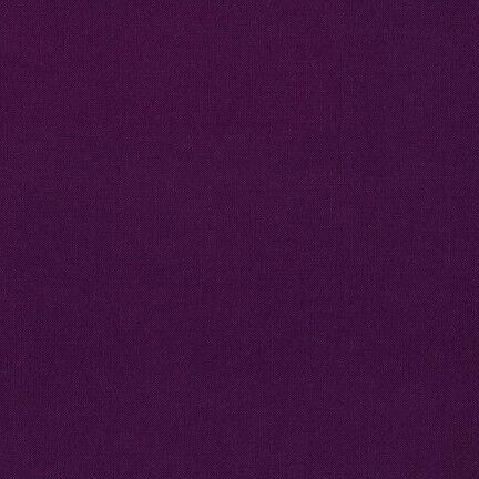 Dark Aubergine 67-100/% Cotton Poplin Fabric Devon Plain Cotton