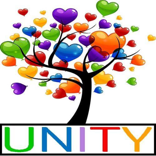 30 Custom Unity Heart Tree Personalized Address Labels
