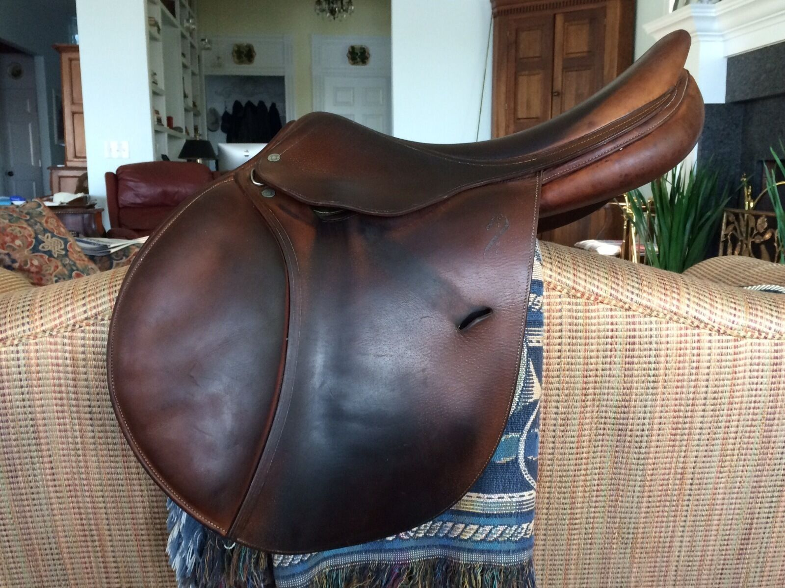 18  Flap Antares Sellier Jumping Saddle M20 3A L 18