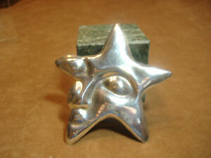 VINTAGE-HUGE-STERLING-SILVER-STAR-WITH-FACE-PIN-3-1-4-034-ACROSS