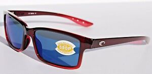 d808a50ebd Image is loading COSTA-DEL-MAR-Tern-580-POLARIZED-Sunglasses-Pomegranate-