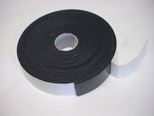 Zellkautschuk Gummidichtung Dichtungsband  10mx60mmx3mm BAW
